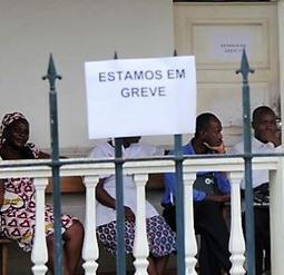 Greve dos funcionários judiciais e do Ministério Público