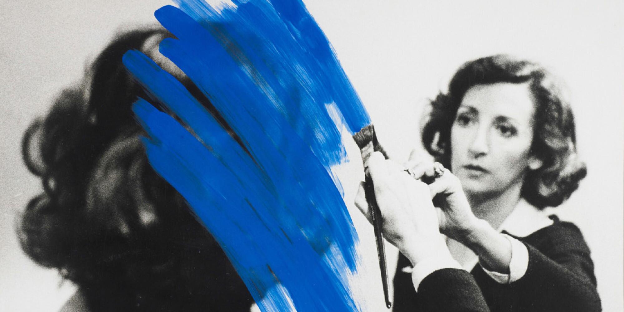 Exposição Corpus de Helena Almeida no Jeu de Paume em Paris
