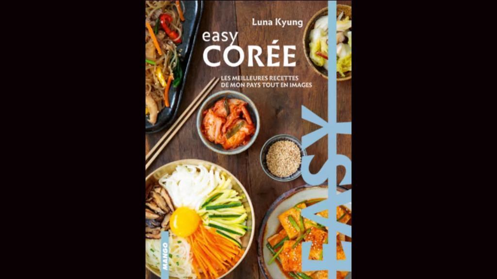 """Couverture """"Easy Corée""""."""