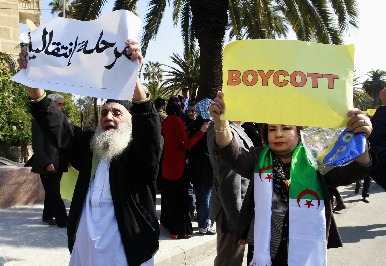 Ce 12 mars 2014, des manifestants ont répété leur opposition à la candidature Bouteflika.