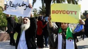 Le 12 mars 2014, des manifestants s'étaient déjà opposés à la candidature du président Bouteflika.