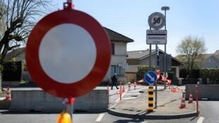 La frontière franco-suisse fermée le 5 avril 2020 (image d'illustration).