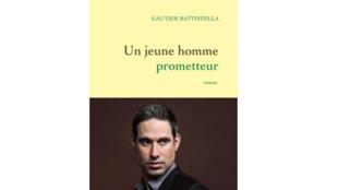 """Couverture du 1er roman de Gautier Battistella """"Un jeune homme prometteur"""""""