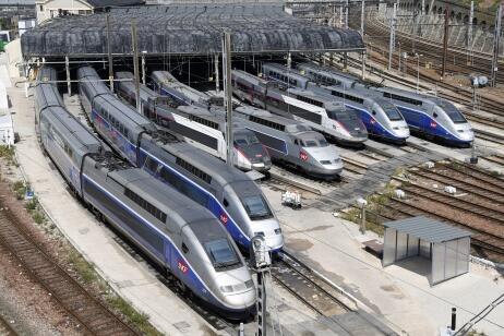 French TGVs