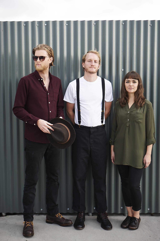 Le groupe américain de folk The Lumineers, pour leur deuxième album «Cleopatra».