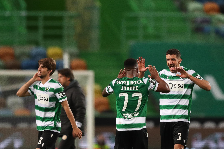 Sporting CP - Sporting Clube de Portugal - Desporto - Futebol - Liga Portuguesa - Jovane Cabral - Zouhair Feddal  - Football - Sport