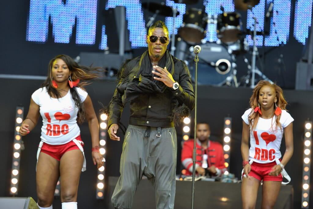 Le Franco-Congolais(RDC) Jessy Matador : il avait représenté la France en 2010 lors du concours de l'Eurovision et terminé 12ème sur 39 (meilleurs score de la France depuis  2001 !).