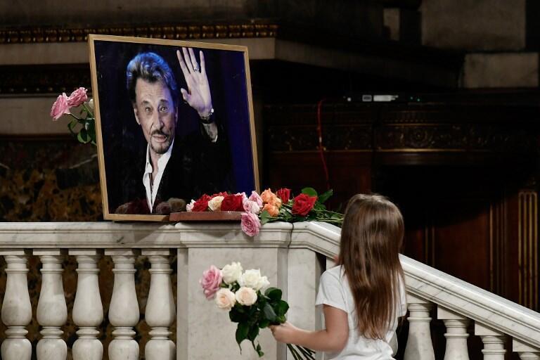 Lễ tưởng niệm Johnny Hallyday tại nhà thờ Madeleine hôm 15/06/2019