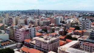 Vue de Dakar, la capitale du Sénégal.