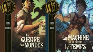 Les oeuvres de HG Wells, adaptées en bandes dessinées.