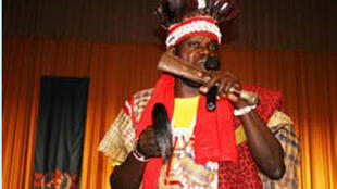 Le griot congolais, Jean Pierre Ngampika Mpéré.