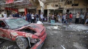 Bombas explodiram em Bagdá nesta quarta-feira, dia 28 de agosto de 2013.