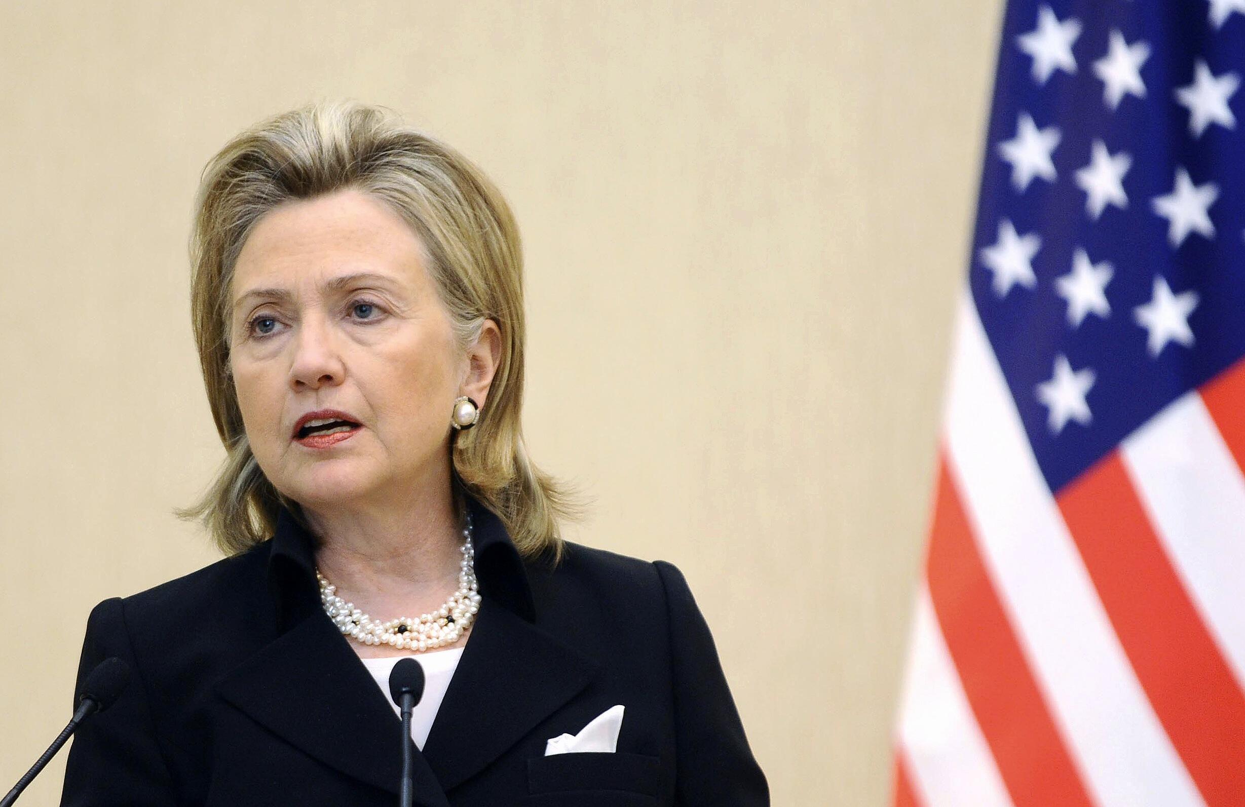 Госсекретарь США Хиллари Клинтон в Баку 4 июля 2010