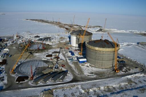 Image RFI Archive - Russia's gigantic Yamal LNG plant in Arctic Siberia