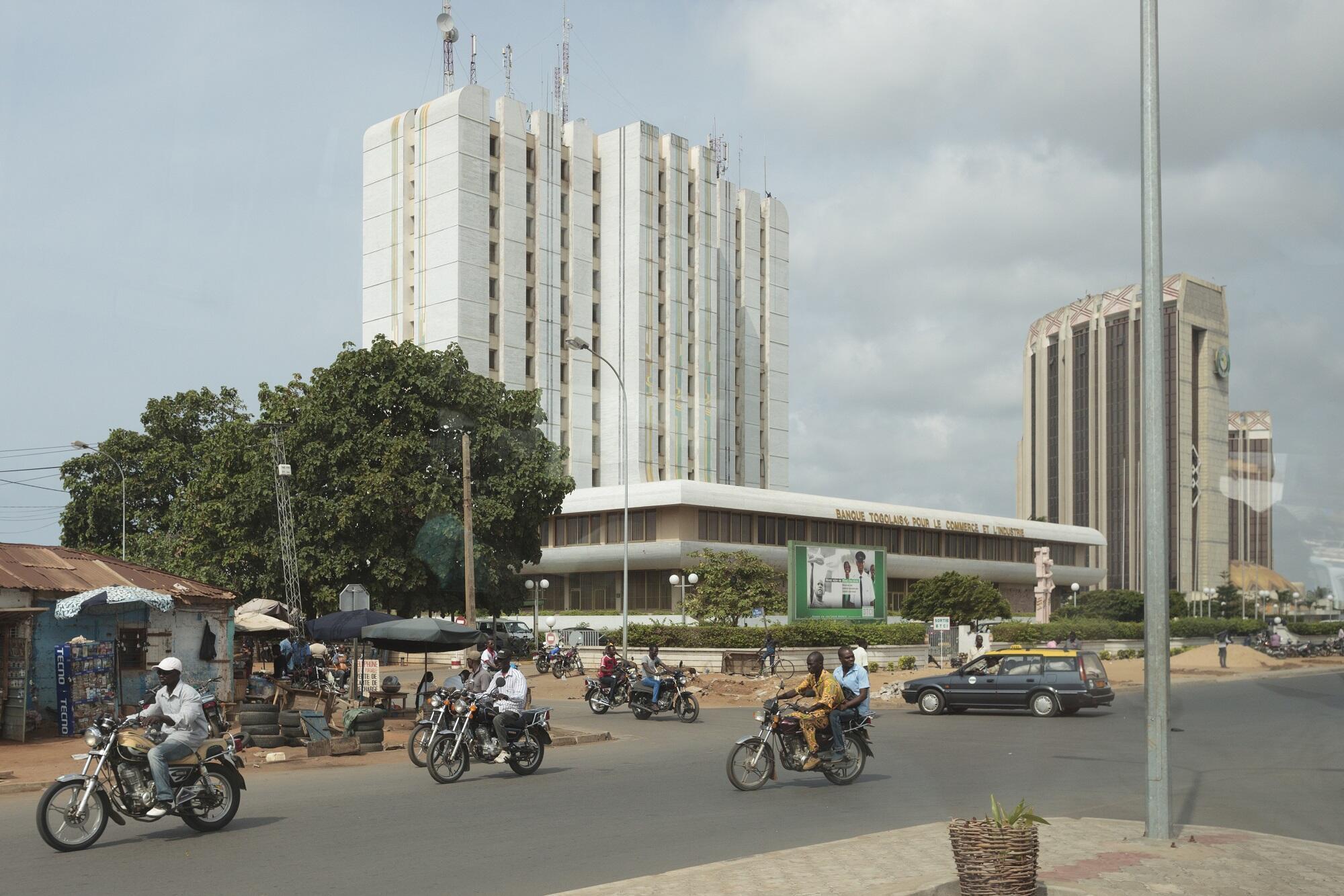 Banque togolaise pour le commerce et l'industrie, à Lomé.