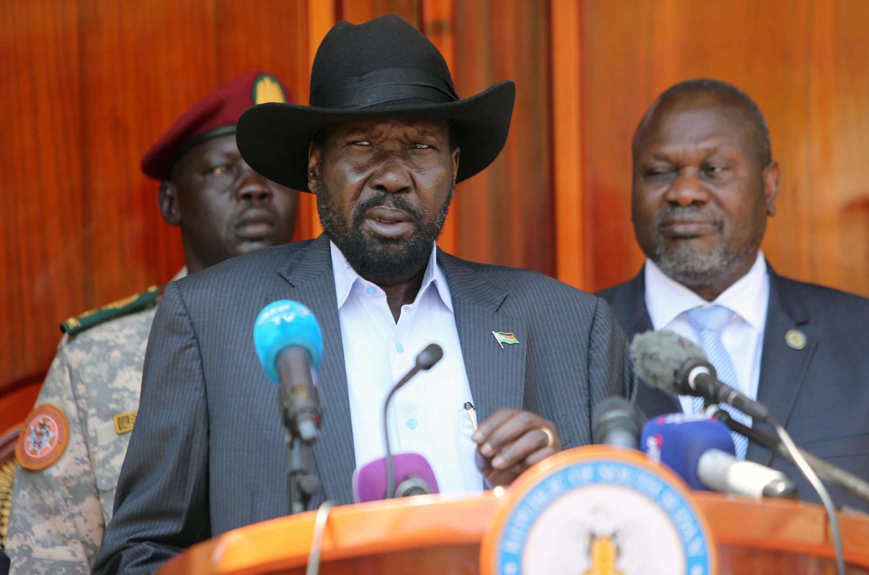 Mataimakin shugaban Sudan ta Kudu Riek Machar.