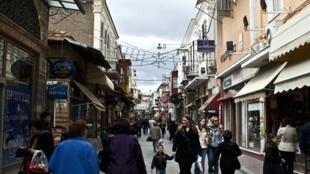 Les rues de Chios.