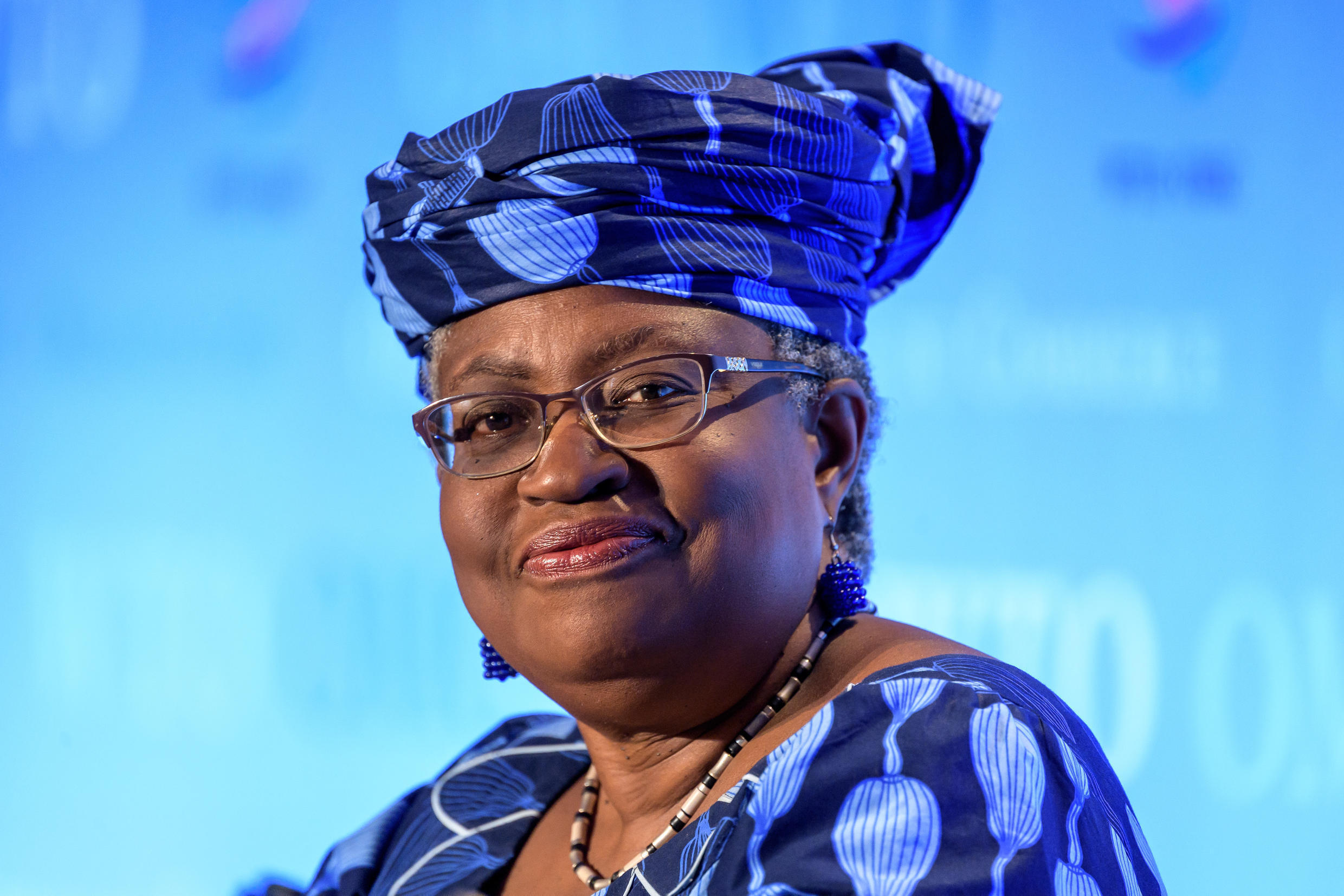 Eyes on the WTO: Former Nigerian foreign and finance minister Ngozi Okonjo-Iweala