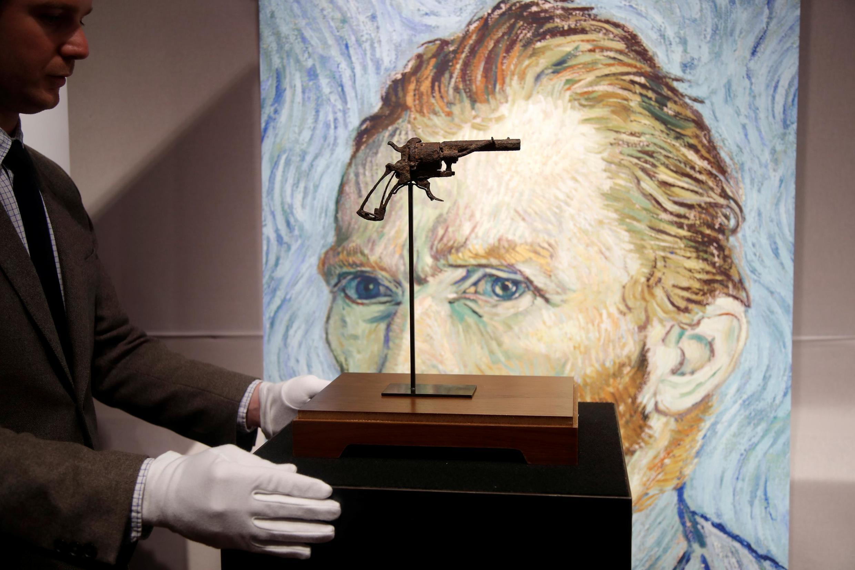 «Револьвер Ван Гога» на аукционе в Париже. 19 июня 2019