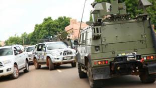 Trois avions militaires C-17 ont acheminé jusqu'à Bamako les 24 blindés (image d'illustration).