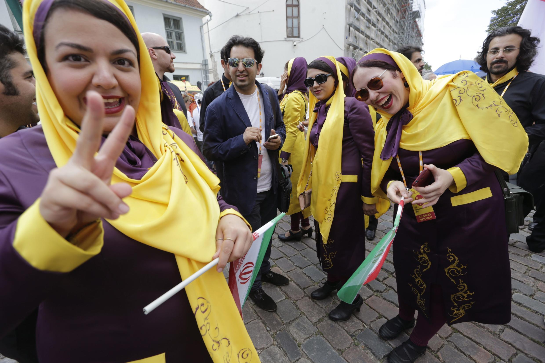 حضور گروه آوازی تهران در شهر ریگا