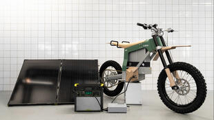 The Kalk AP (anti-poaching) electric 'bush-bikes' developed by Stockholm-based electric motorcycle company CAKE are due to be tested between June and August 2021 in South Africa.