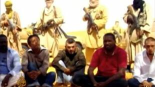Французские заложники в руках террористов