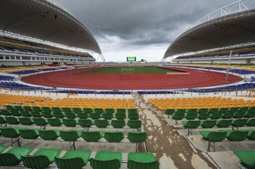 Libreville, le stade de l'Amitié sino-gabonaise, où s'est déroulé la finale de la CAN 2012.