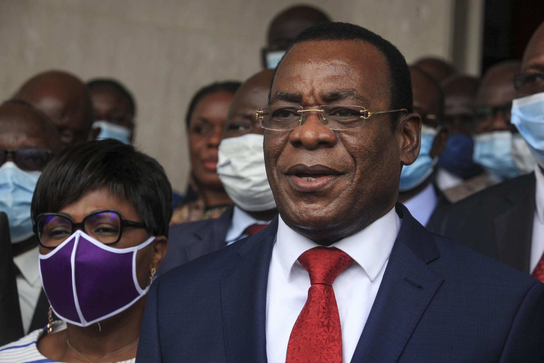Pascal Affi N'Guessan, le 27 août 2020 à Abidjan.