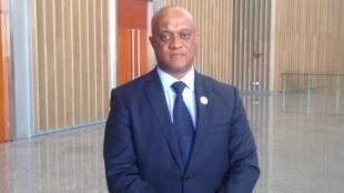 O ministro cabo-verdiano dos Negócios Estrangeiros, Luís Filipe Tavares, em Addis Abeba, Etiópia.