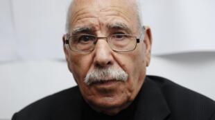 Le vétéran algérien Lakhdar Bouregaa, en novembre 2015.