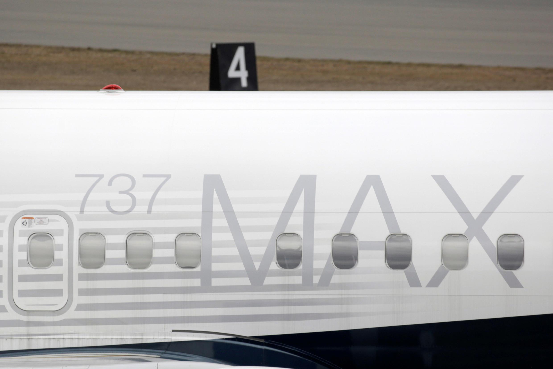 波音737 MAX标识照片