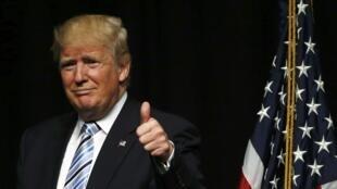 Donald Trump dan takarar shugabancin Amurka karkashin jam'iyyar Republican na samun nasara a yakin neman zabensa