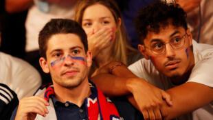 L'Olympique lyonnais s'est incliné en demi-finale de la Ligue des Champions face au Bayern Munich (0-3), le 19 août 2020.