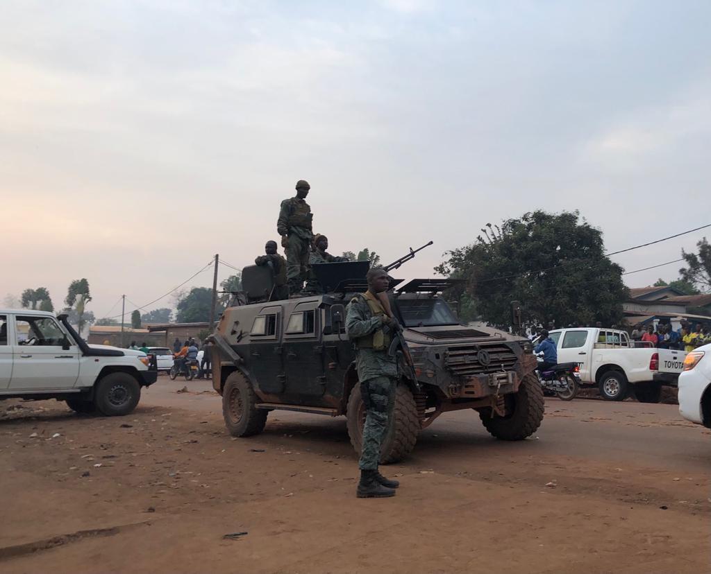 Centrafrique - Bangui - Garde présidentielle