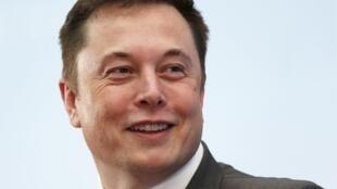 Elon Musk le dirigeant de Tesla et de SpaceX