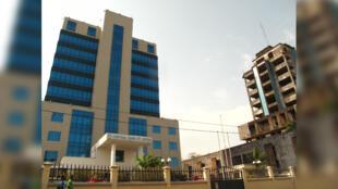 La Banque centrale du Liberia à Monrovia, sa capitale.