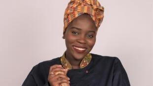 Ndeye Aïssatou Mbaye et son pilon.
