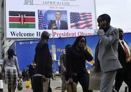 O regresso de Barack Obama à terra natal do pai teve um eco muito particular no Quénia