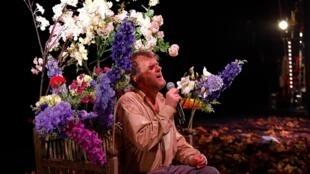Pippo Delbono présente «La Gioia» au Théâtre du Rond-Point à Paris.