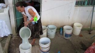 En 2013, varias alcaldías habían suspendido la distribución de agua para reparar fugas.