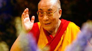 Le Dalaï Lama, chef spirituel des Tibétains.