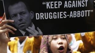 Dân Indonesia phản đối Úc xin khoan hồng cho hai tội phạm buôn ma túy.