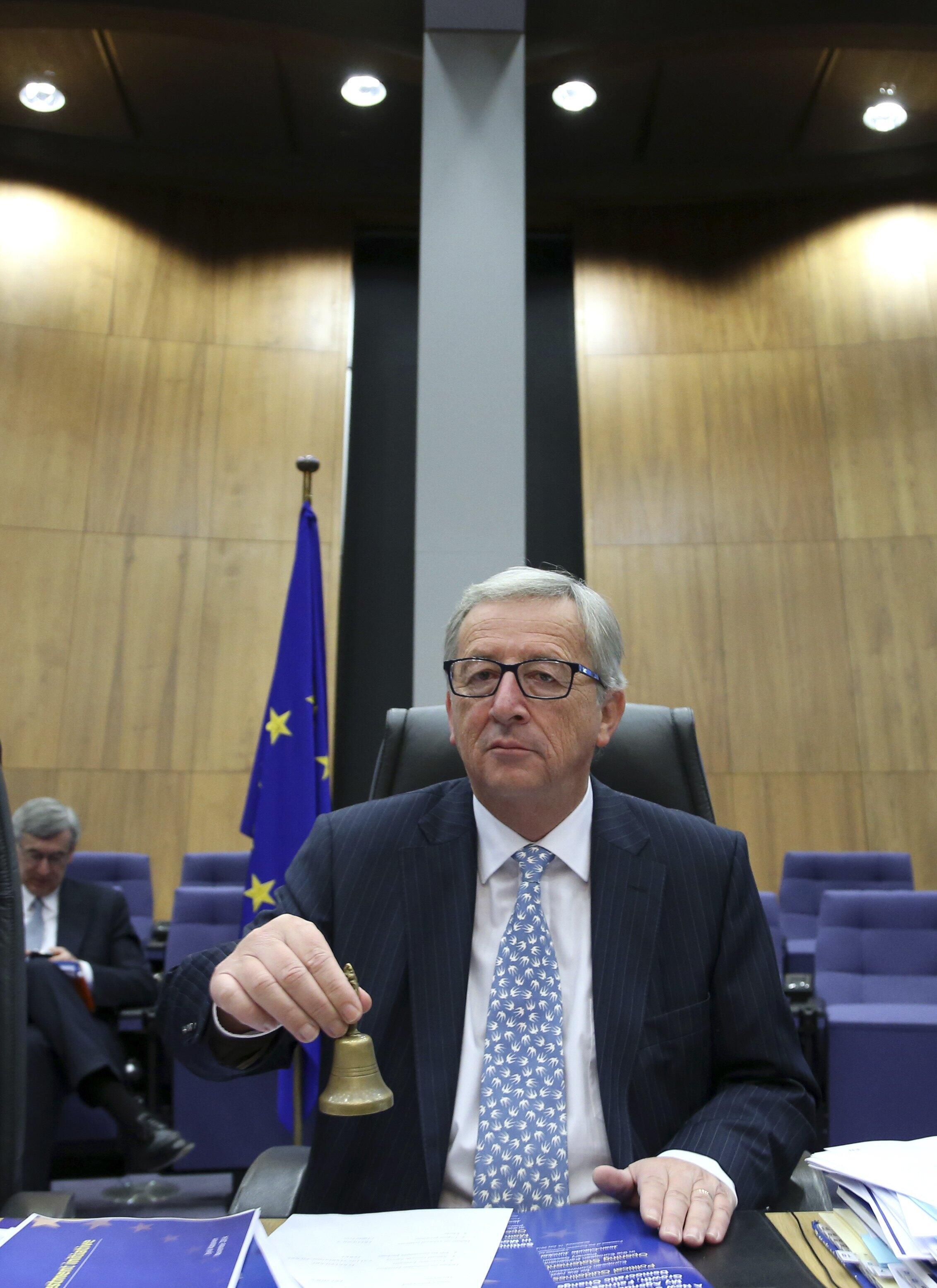 Acabado de chegar à Comissão Euopeia, o alarme soou para Juncker