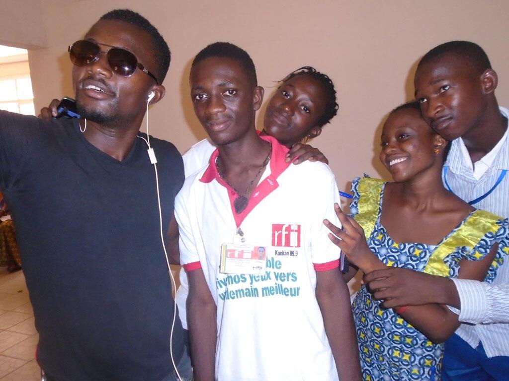 Le Club RFI Kankan (Guinée).