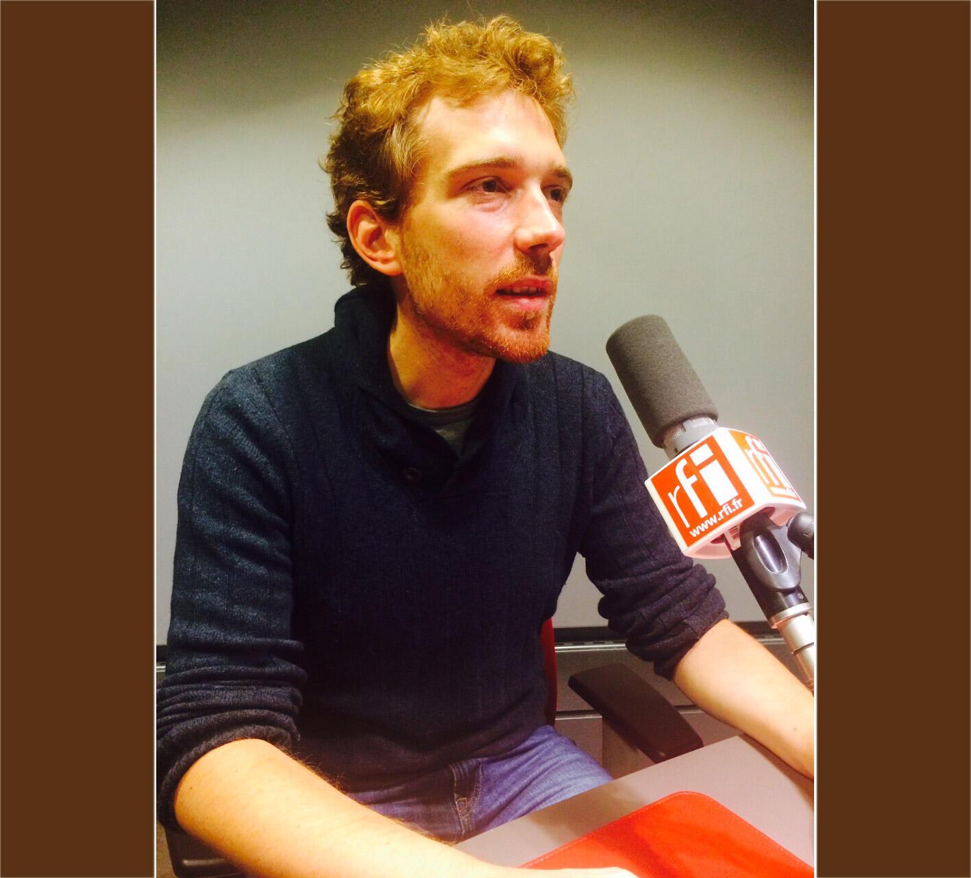 Fabrice Tarrit, président de l'association Survie.