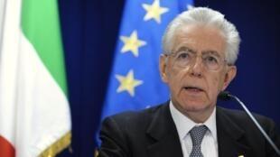 Premiê Mario Monti, em foto do dia 29 de junho.