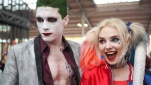 La mode du «cosplay», se déguiser comme les super-héros, battait son plein au Comic-con.