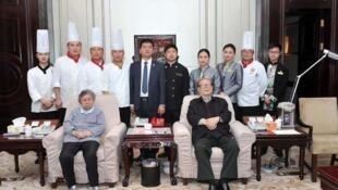 中共前总书记江泽民被指现身故乡江苏扬州一家酒店内,具体时间不详。