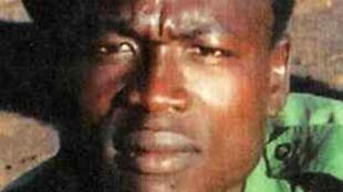 Photo non datée de Dominic Ongwen issue du site d'Interpol.
